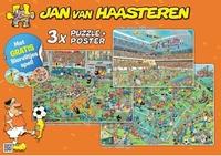 Jan van Haasteren Voetbal 3 in 1 WK