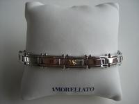 Edelstalen armband zonder sluiting (oprekbaar)